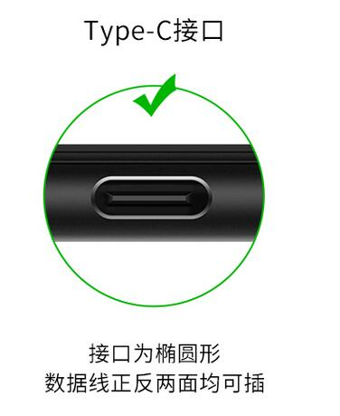Detailed Type-C charging cable