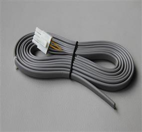 Automatic door wire harness for security equipment