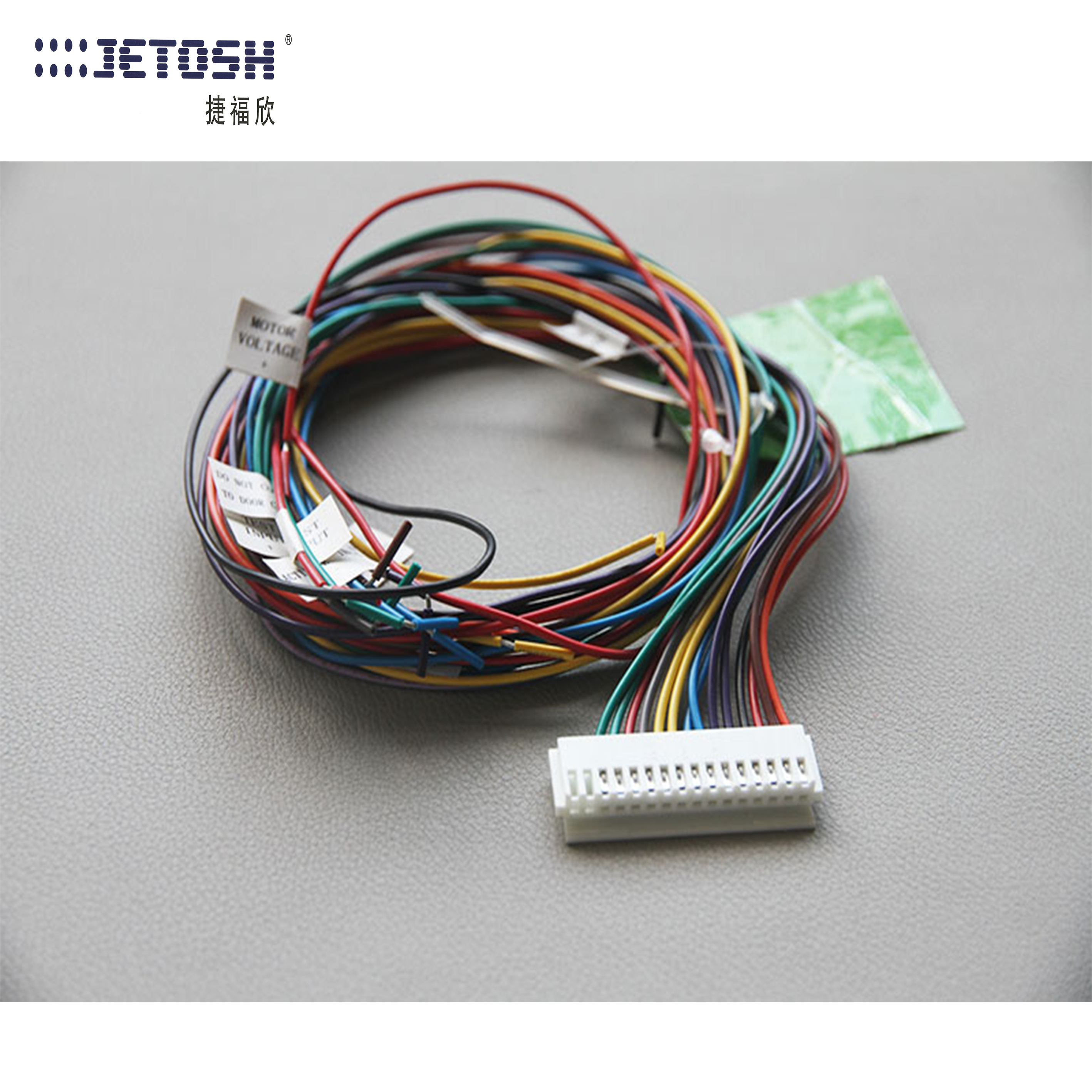 Wire harness for the automatic door